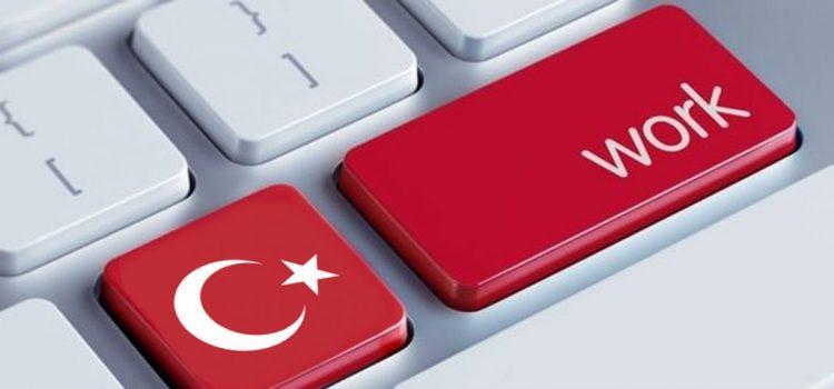 العمل في تركيا